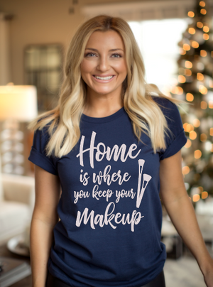 Home Is Where You Keep Your Makeup