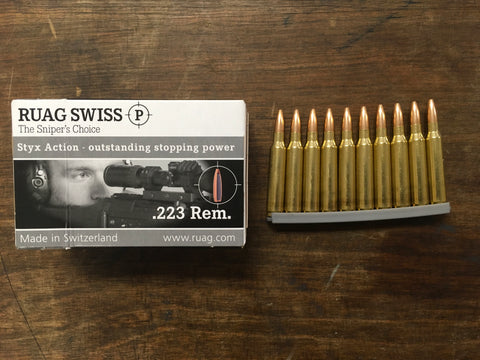 RUAG Swiss P Styx .223 Rem. 69 Grain HP x 200 rounds