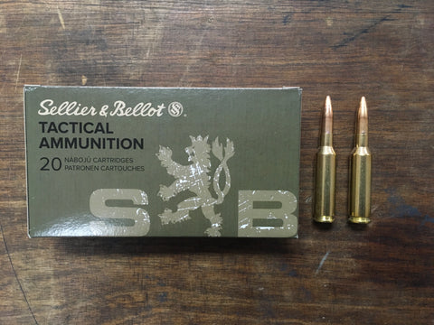 Sellier & Bellot 6.5 Creedmoor 140 Grain FMJ BT x 100 rounds
