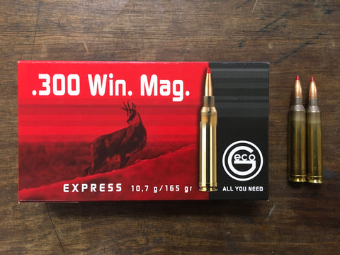 Geco .300 Win. Mag. Express 165 gr. x 100 rds