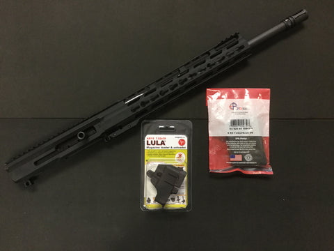 7.62X39 AL Billet Side Discharge Upper-BCG / Lula AR-15 7.62x39mm Mag Loader / CPD MAGS 30 round 7.62x39mm AR-15 Mag