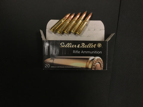 Sellier & Bellot 7.62x39 124 Grain x 500 rounds
