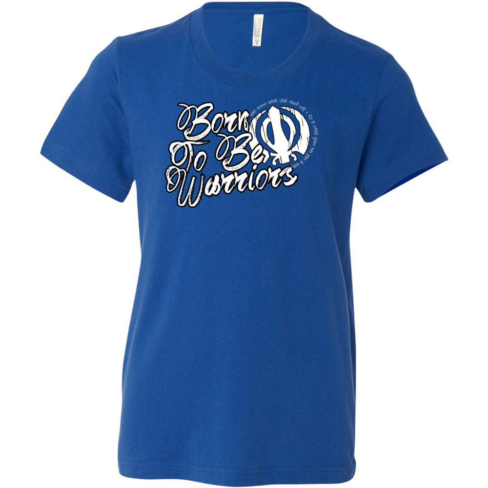 Buy Printed T-shirt Born To Be Warriors