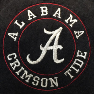 Alabama Embroidered on Deluxe Tri-Fold Golf Towel
