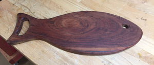 Walnut fish shaped Cutting Board