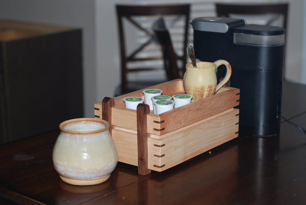 k-cup coffee storage unit