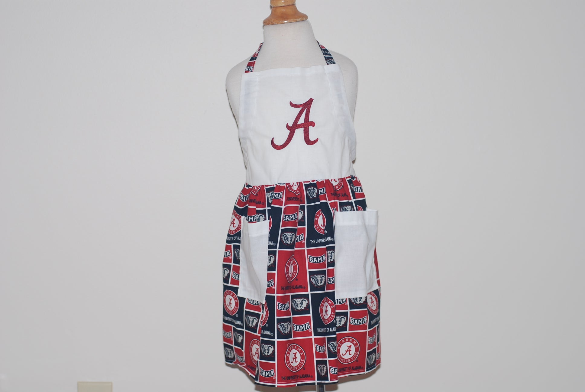 Alabama print with A on top