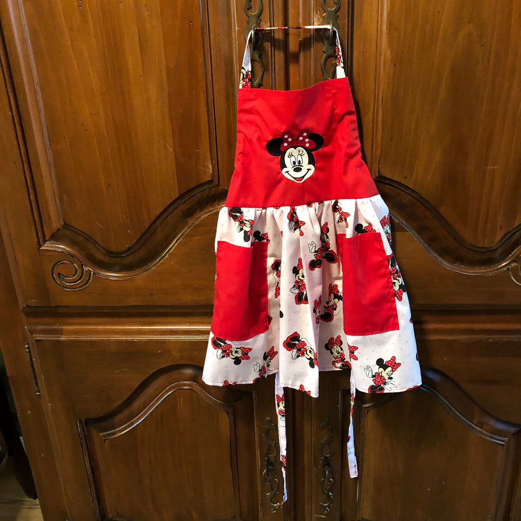 Minnie Mouse Child's Apron