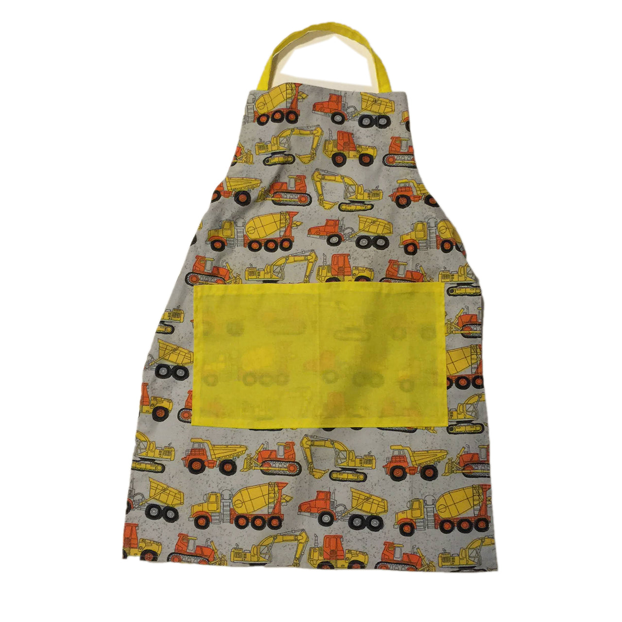 Tractor child's apron