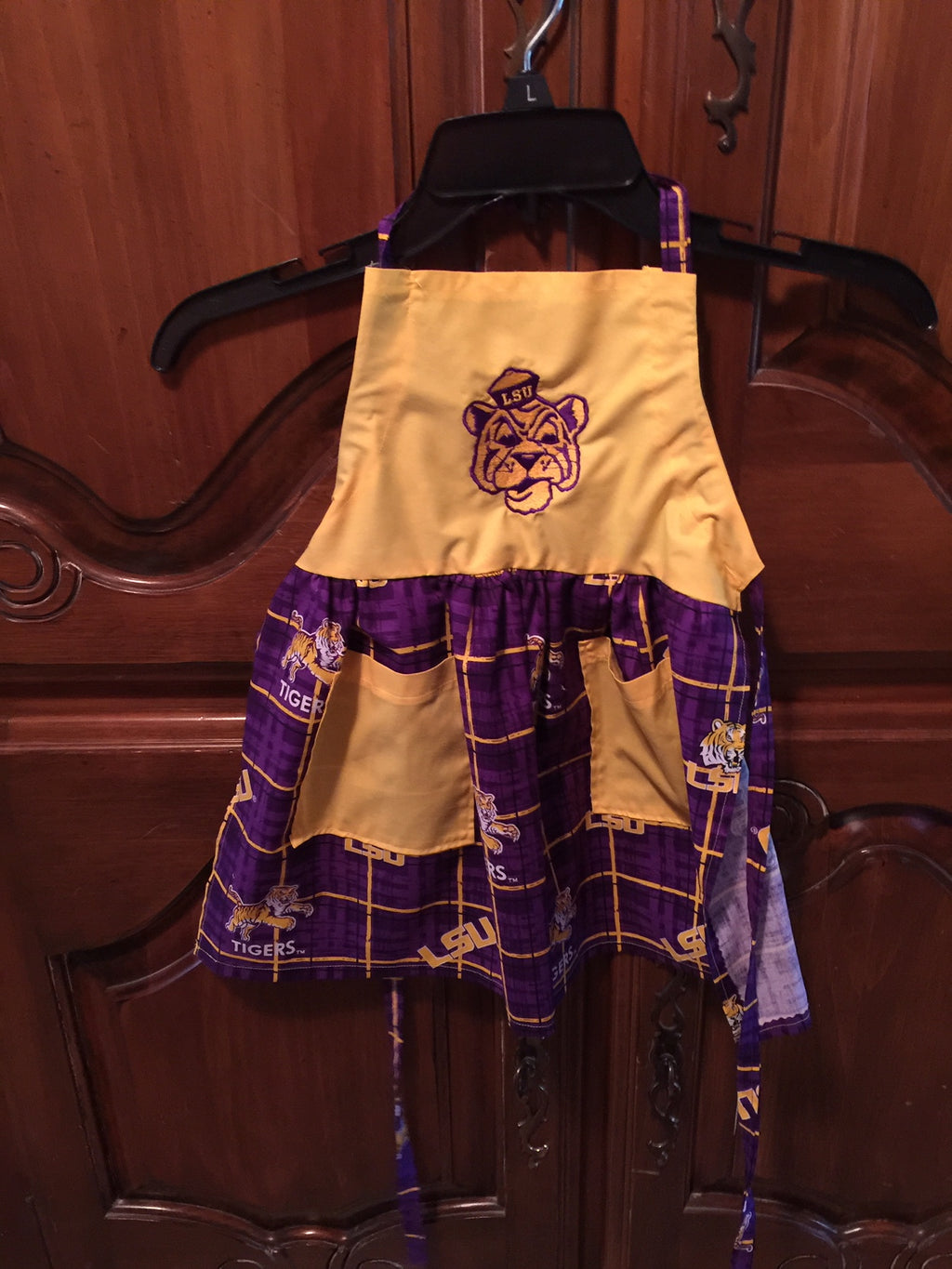 LSU Child's Apron