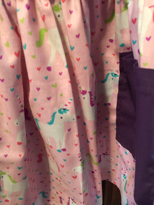 Unicorn Purple Apron