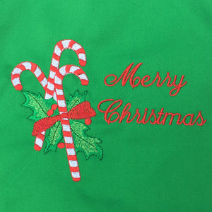 Merry Christmas Candy Cane BBQ Apron