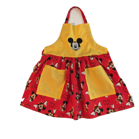 Mickey Mouse Child's Apron for girls