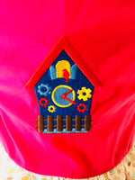 Cuckoo Clock Child's Apron