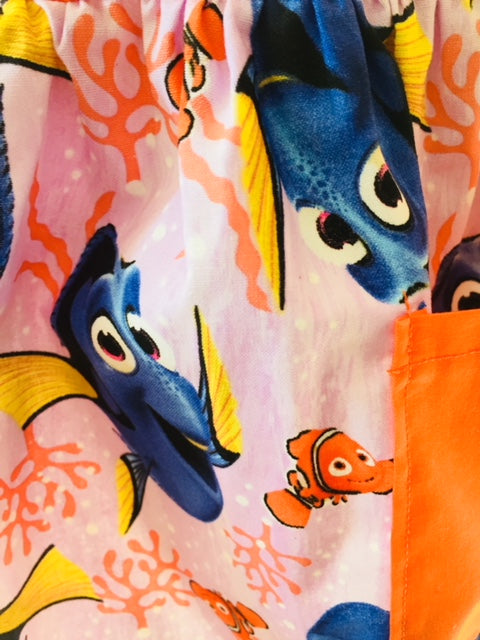 Dory Keep on Swimming Child's Apron