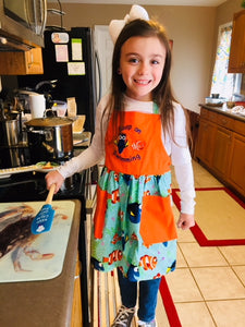 Nemo and Dory Keep on Swimming Child's Apron