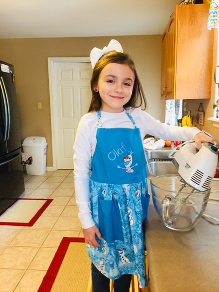 Olaf Child's Apron