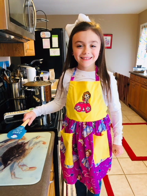 Sophia the First Child's Apron