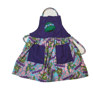TMNT (Teenage Mutant Ninja Turtle) Blue mask Child's Apron