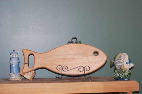 Fish shaped Cutting Board (Maple)