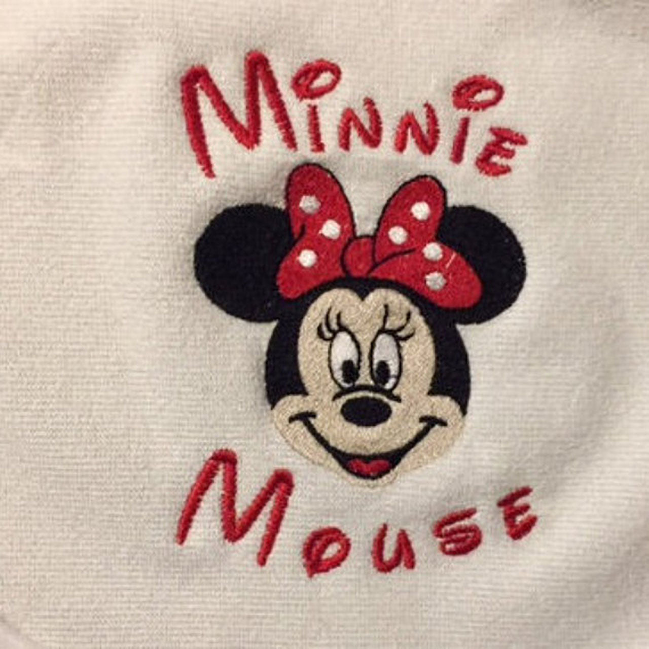 Minnie Mouse Baby Bib