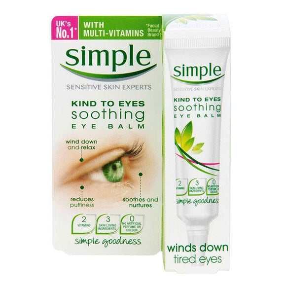 Simple Kind To Eyes Soothing Szemkörnyékápoló-Orshy Cosmetics