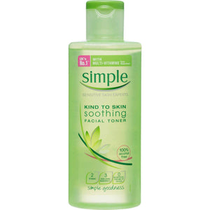 Simple Kind To Skin Soothing Arclemosó Tonik 50ml-Orshy Cosmetics