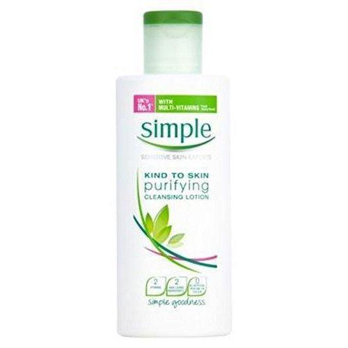 Simple Kind To Skin Tisztító Arclemosó Tej 200ml-Orshy Cosmetics