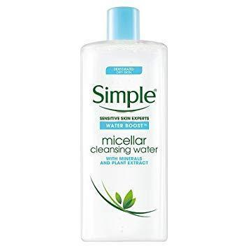 Simple Water Boost Micellás Arclemosó 400ml-Orshy Cosmetics