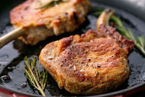 15-minute Garlic-Brown Sugar Pork Chops