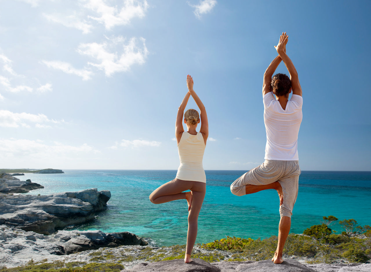Less stress and more energy with yoga