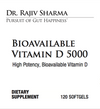 Bioavailable Vitamin D 5000