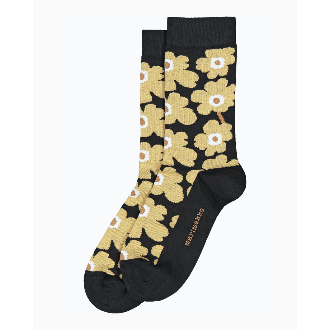 Hieta Ankle Socks Brown, Beige