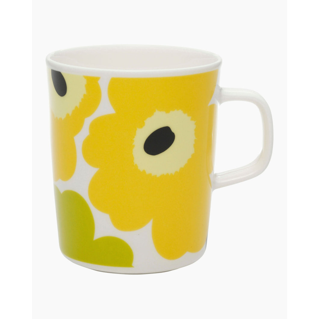 Unikko Mug White/ Lime