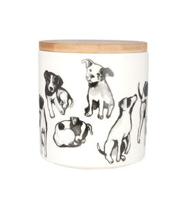 Dog Jar Canister