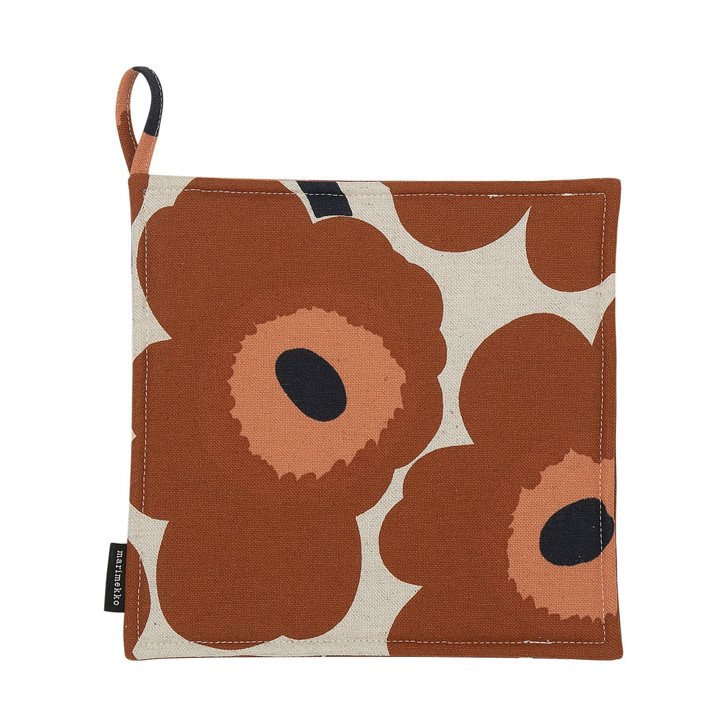 Pieni Unikko Pot Holder Chestnut