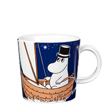 Moominpappa Dark Blue Sailing Mug