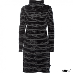 ROUTA Sweatshirt Knit Dress Grey