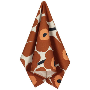 Pieni Unikko Kitchen Towel Brown