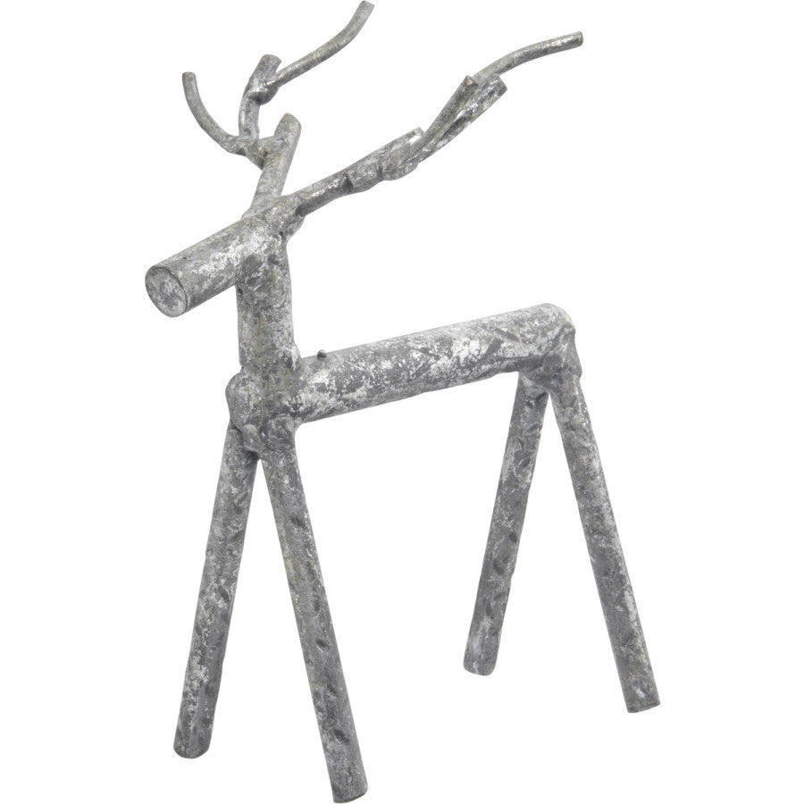 Saana Reindeer Metal Ornament