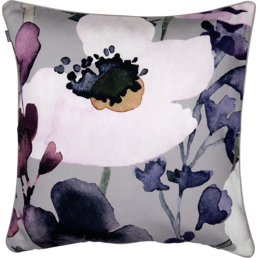 Anemone Cushion Cover Grey & Pink