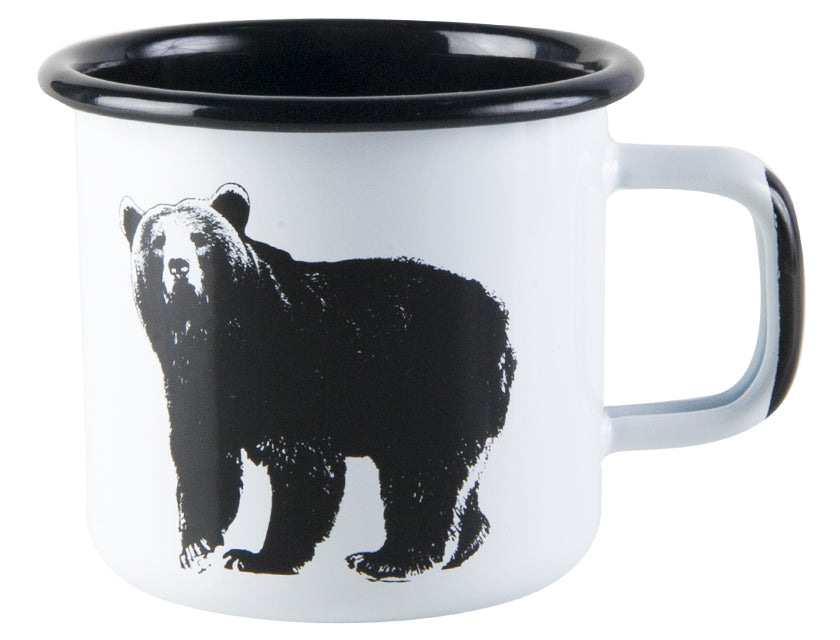 Nordic the Bear Enamel Mug