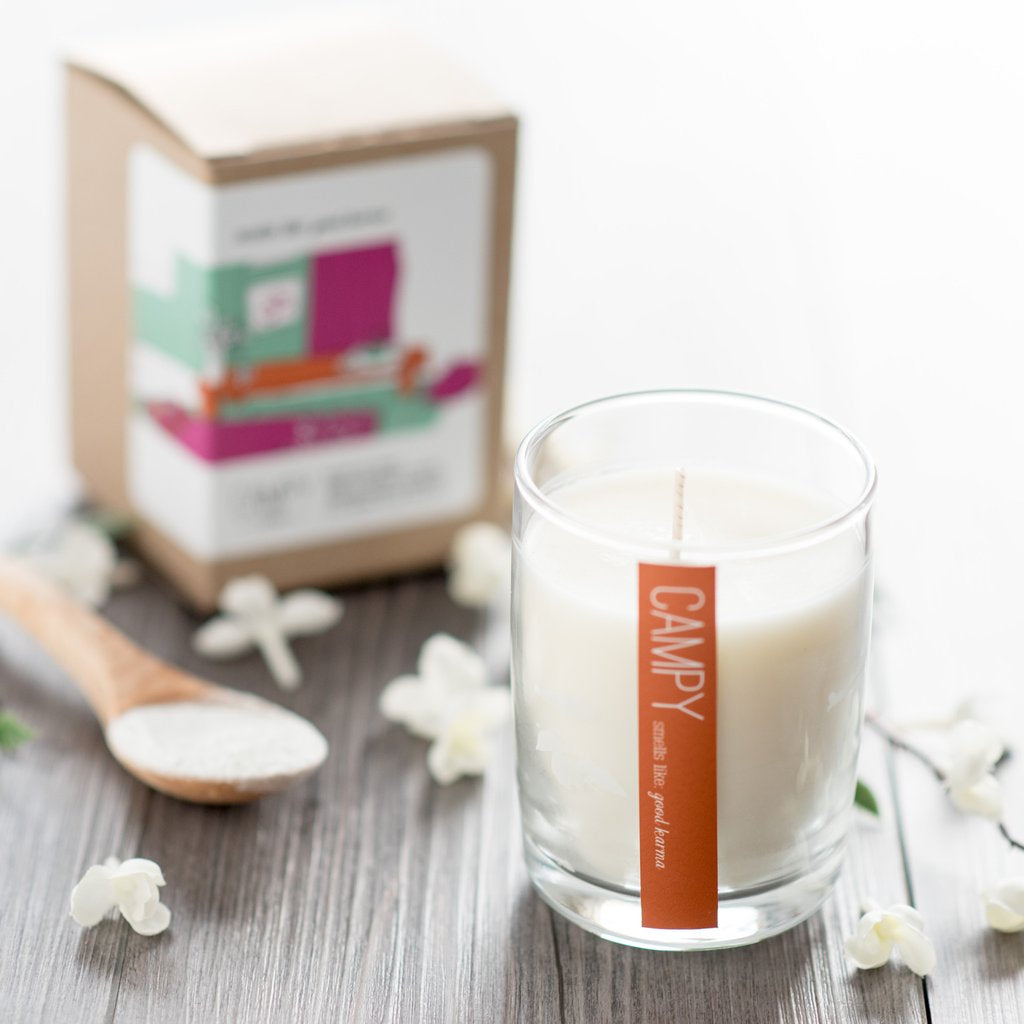 """Smells Like Good Karma"" Soy Candle"
