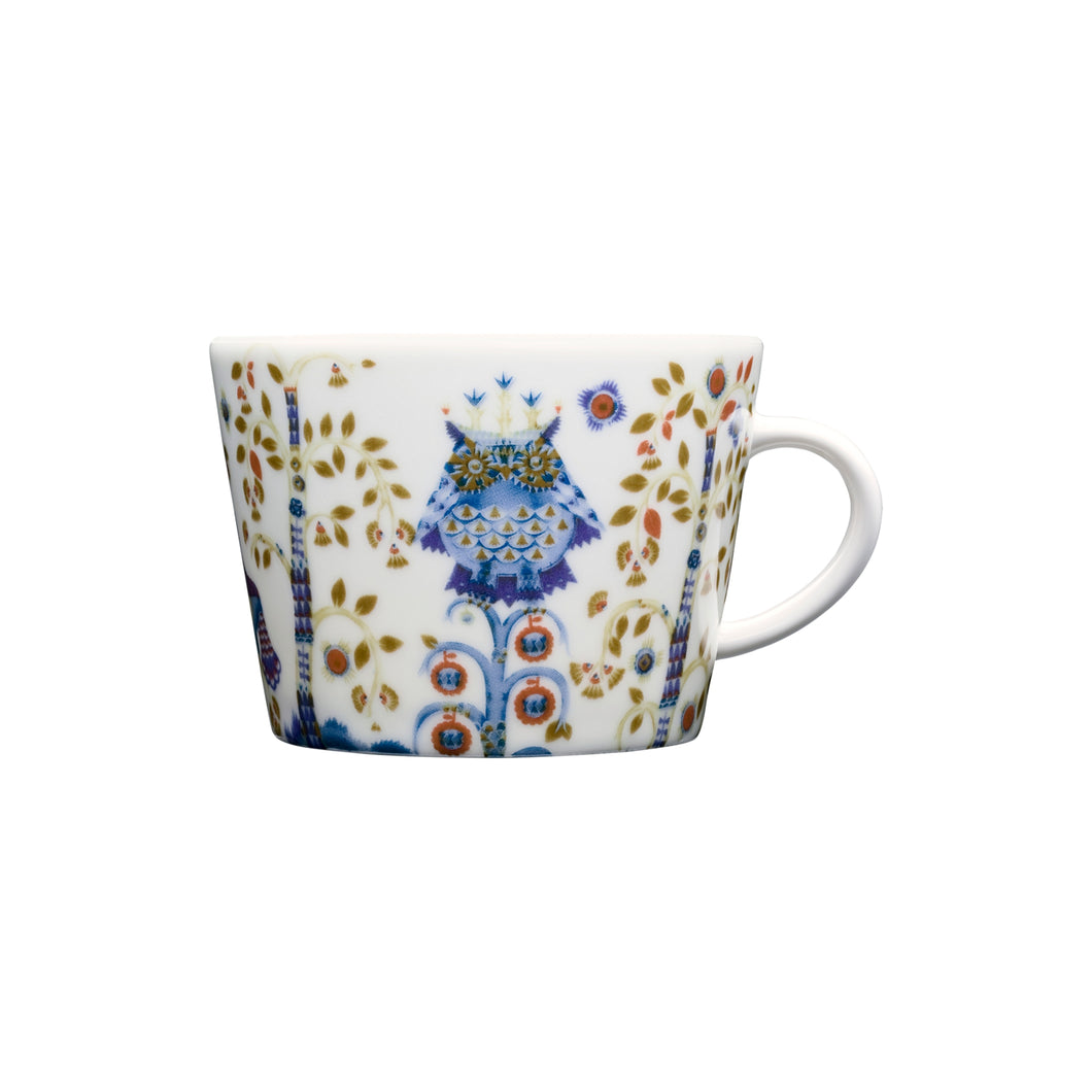 Taika White Cup & Saucer