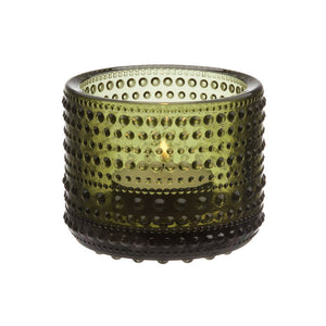 Kastehelmi Tea Light Votive Moss Green