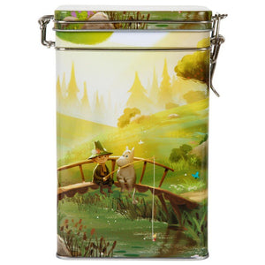 Moomin Animation 'Fishing' Coffee Tin