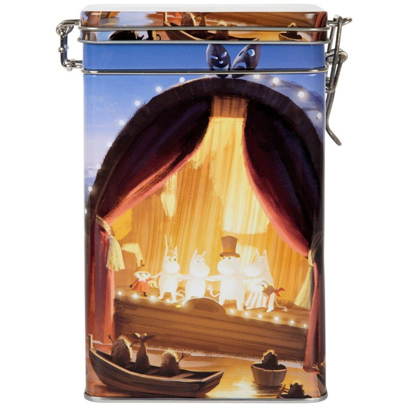 Moomin Animation 'At the Theatre' Coffee Tin