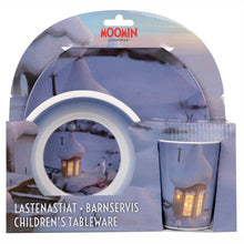 Moomin Animation 'Winter' Dinner Set
