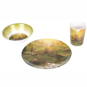 Moomin Animation 'Fishing' Dinner Set