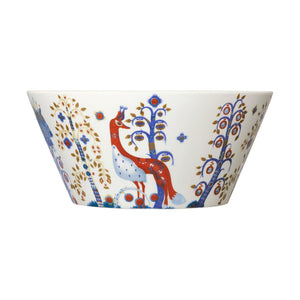 Taika White Serving Bowl